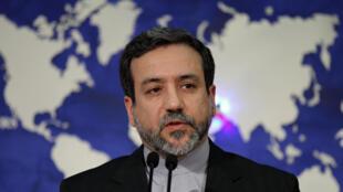 Abbas Araghchi, vice-ministro dos Negócios Estrangeiros do Irão