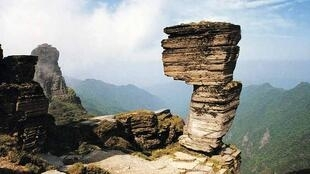贵州梵净山角逐进入世遗名录