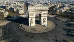 4月1日巴黎凯旋门