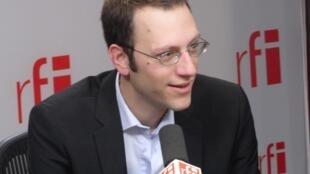 Bertrand Buisson, porte-parole de la campagne de Jacques Cheminade.