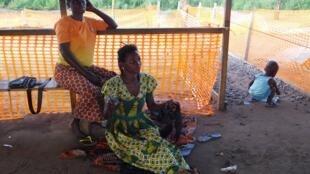 Refugiados da RDC no campo do Dundo, Lunda Norte, Angola, em Maio de 2017.