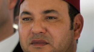 Le roi du Maroc, Mohammed VI.