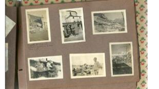 L'album-photos du soldat italien Alberto qui s'est battu dans les montagnes à la frontière de l'Autriche Hongrie