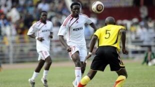 Le Kenyan MacDonald Mariga.
