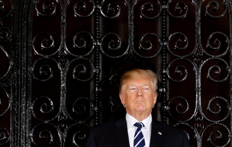 Ni nyumbani kwake huko Mar-a-Lago, Florida, ambapo Donald Trump alimpokea Shinzo Abe, Waziri Mkuu wa Japan.
