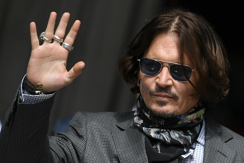 Hollywood star Johnny Depp