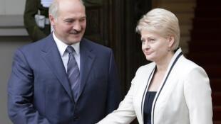 В конце «нулевых» Далю Грибаускайте называли адвокатом Беларуси в Европе, однако на прошлой неделе литовский президент одной из угроз для своей страны назвала нахождение Беларуси «у наших восточных границ».