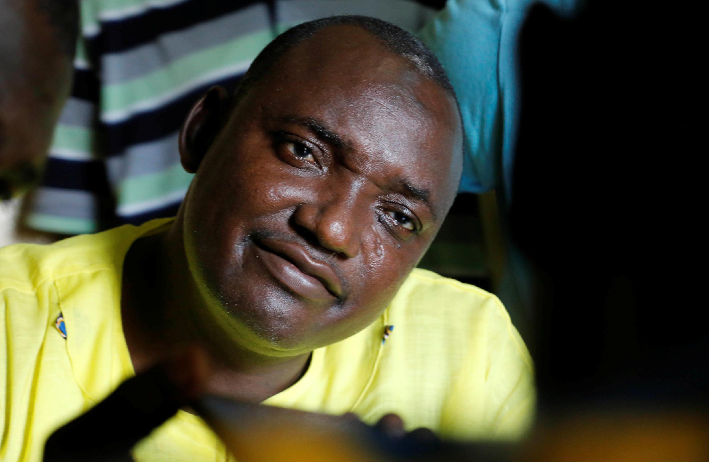 Adama Barrow, novo presidente gambiano.