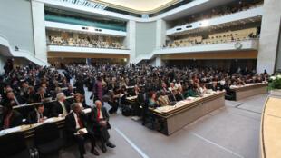 La Asamblea Mundial de la Salud es el órgano decisorio supremo de la Organización Mundial de la Salud. Se reúne en Ginebra en mayo de cada año con la asistencia de delegaciones de los 193 Estados Miembros.