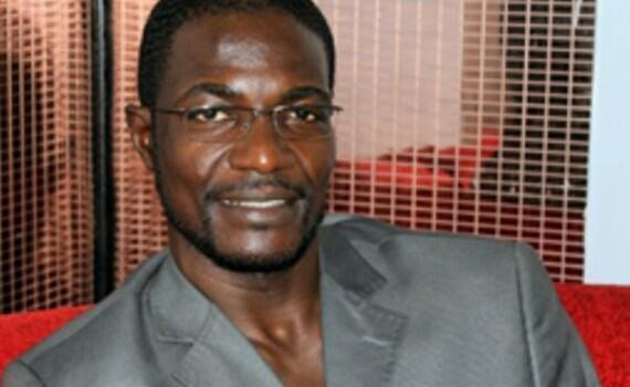 Photo non datée du ministre de la Jeunesse et des Sports centrafricain Armel Sayo.