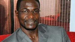 Photo non datée d'Armel Sayo, ministre centrafricain des Sports.