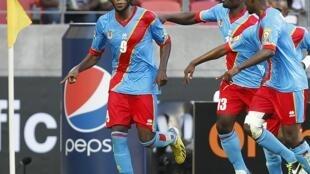 Le Congolais Dieumerci Mbokani sera un des atouts de la RDC entraînée par Florent Ibenge.