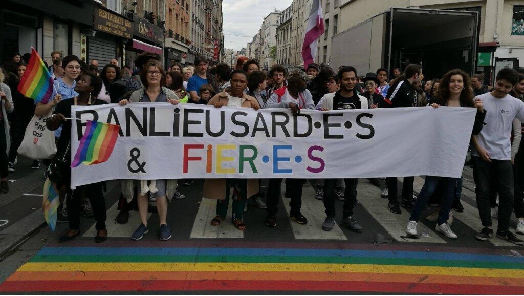 Marcha LGBT en St Denis, 9 de junio de 2019