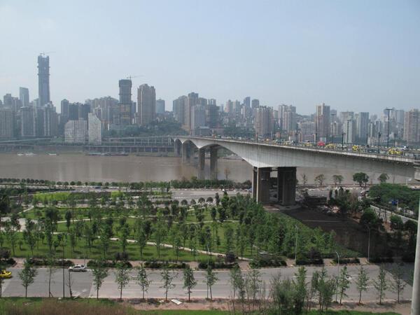 Avec 31 millions d'habitants, Chongqing compte parmi les plus grandes mégalopoles du monde.