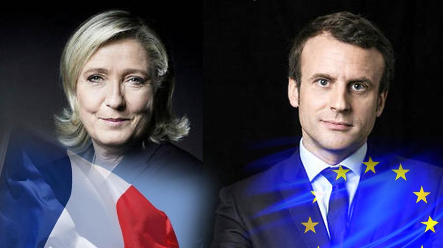 امانوئل ماکرون و مارین لوپن به دور دوم انتخابات ریاست جمهوری فرانسه راه یافتند