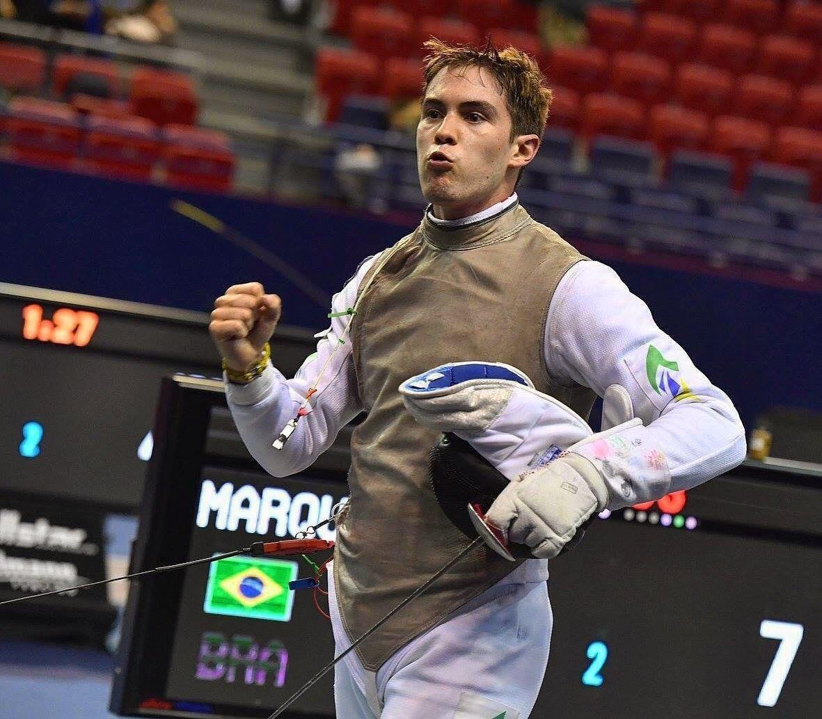 Henrique Marques, da equipe de Alto Rendimento das Forças Armadas, estará na França para o Campeonato Mundial Militar de Esgrima em Nancy.