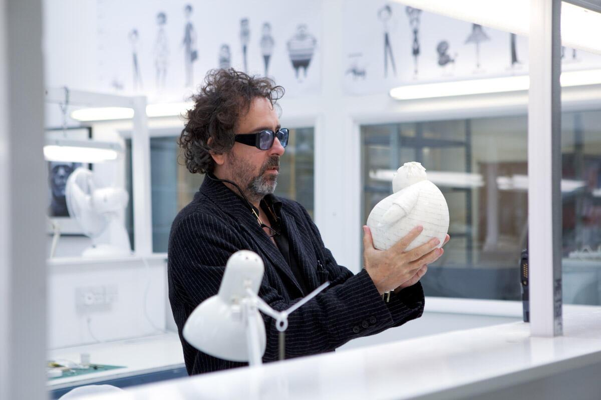 "Tim Burton, créateur de ""Frankenweenie""."