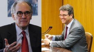 Herminio Blanco y Roberto Azevedo, los candidatos al puesto de director de la OMC.