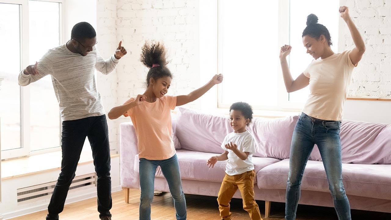 Danser en famille