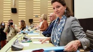 L'ancienne ministre de la Santé Agnès Buzyn lors de son audition devant la commission d'neuqête parlementaire, le 30 juin 2020.