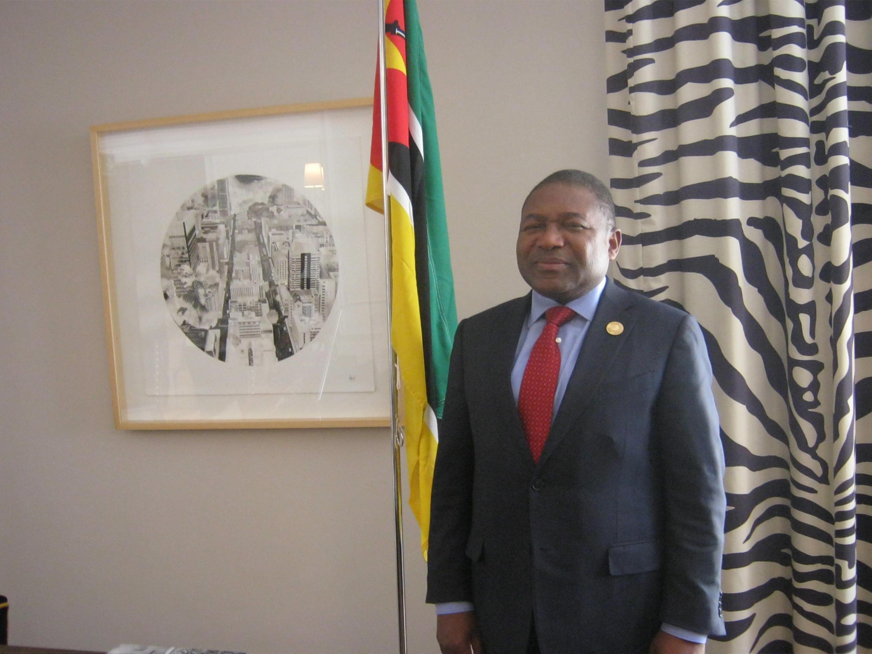 Filipe Nyusi, presidente da Frelimo e chefe de Estado de Moçambique