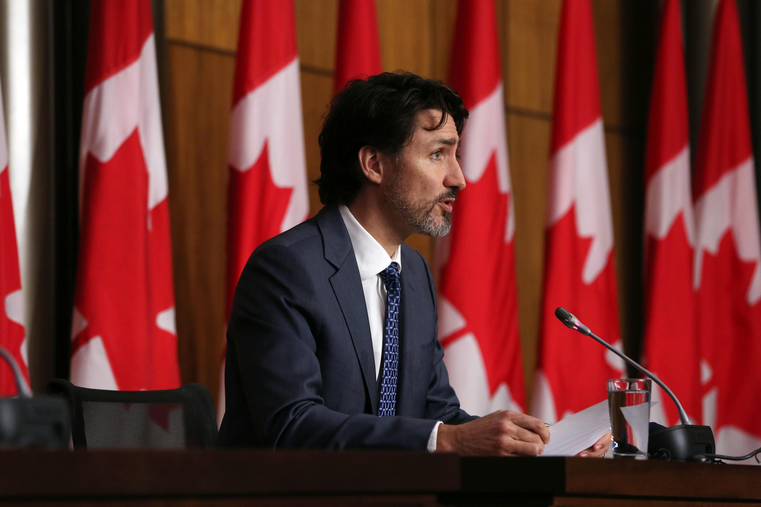 Canadian Prime Minister Justin Trudeau renewed his government's commitment that 'all Canadians who want a vaccine will be able to be vaccinated by the end of September'