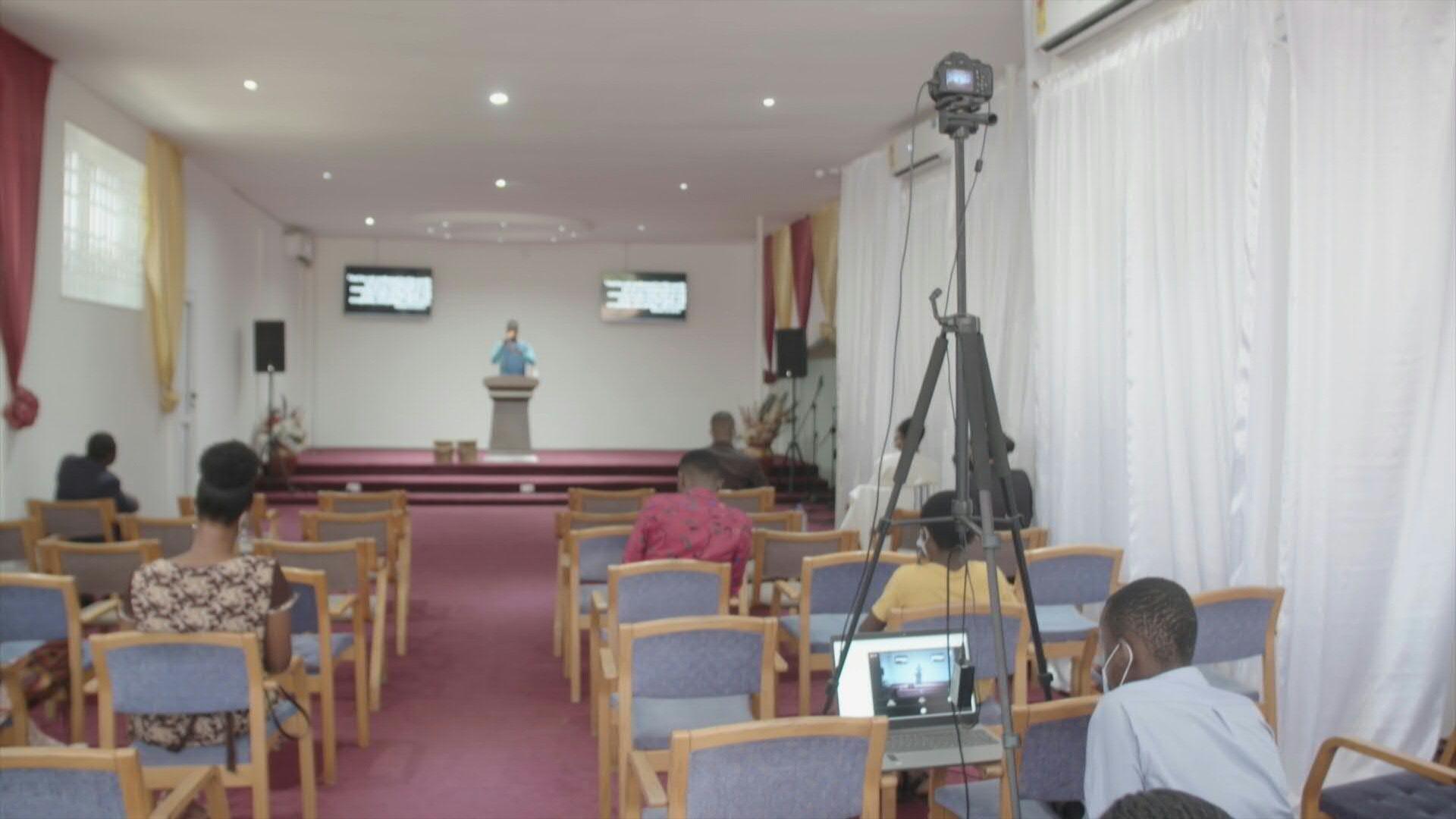 Ghana - Eglise - Coronavirus - Streaming - Messe en ligne