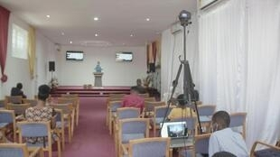 Ghana - Eglise - Coronavirus - Streaming - Messe en ligne