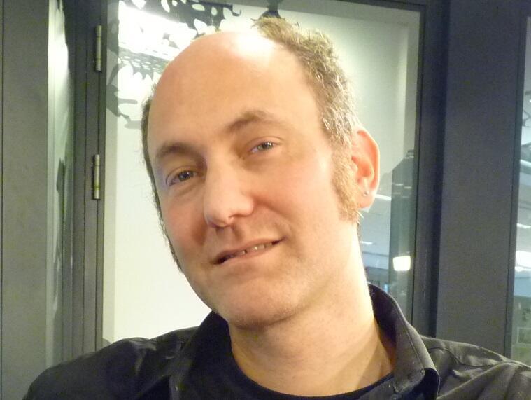 Pablo Flaiszman en los estudios de RFI