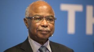 Le minitre tchadien des Affaires étrangères, Hissein Brahim Taha, à Oslo, en février 2017.