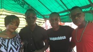 Monique Seka, TNT et Claudy Siar.