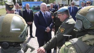 """24 июля А. Лукашенко на встрече со спецназовцами в Марьиной Горке предупредил об опасности провокаций со стороны """"иностранных ЧВК"""""""