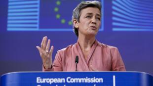 歐盟委員會執行副主席維斯塔格資料圖片
