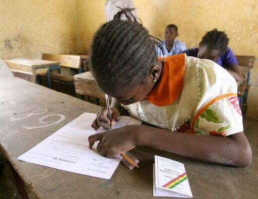 Ecole primaire à Kidal (Mali).