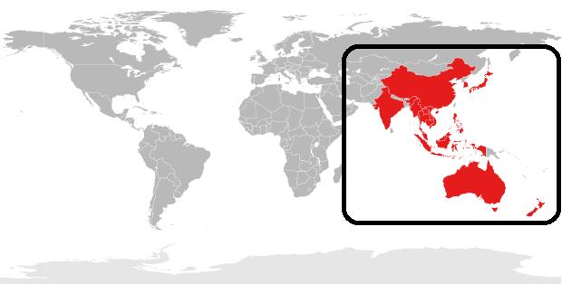 Hiệp định Đối Tác Kinh Tế Toàn Diện Khu Vực (RCEP) do Trung Quốc chủ trương. Hình minh họa.