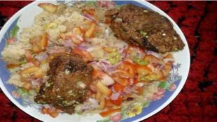 Un plat ivoirien.