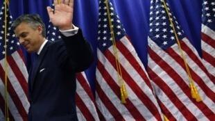 Jon Huntsman era um dos representantes da ala moderada dos republicanos.