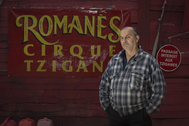 Alexandre Romanès, fondateur du cirque, le 13 octobre 2016.