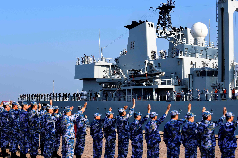 Chine - navire de guerre