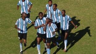 L'équipe du Botswana qualifiée pour la CAN 2012.