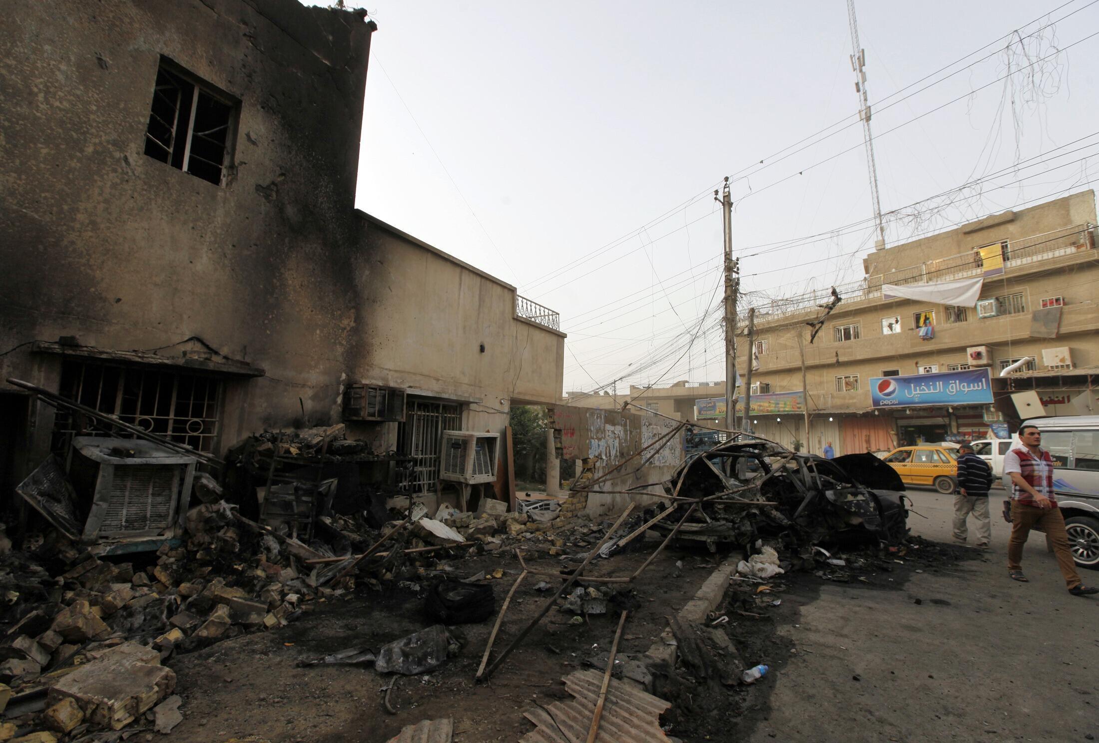Теракты в Багдаде, 19 октября 2013