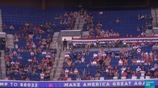 empty seats trump Tulsa