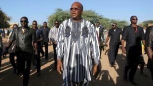 Roch Marc Kaboré anaongoza katika uchaguzi wa rais Burkina Faso.