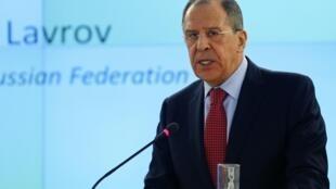 Сергей Лавров на сессии Совета по правам человека ООН в Жененве 03/03/2014