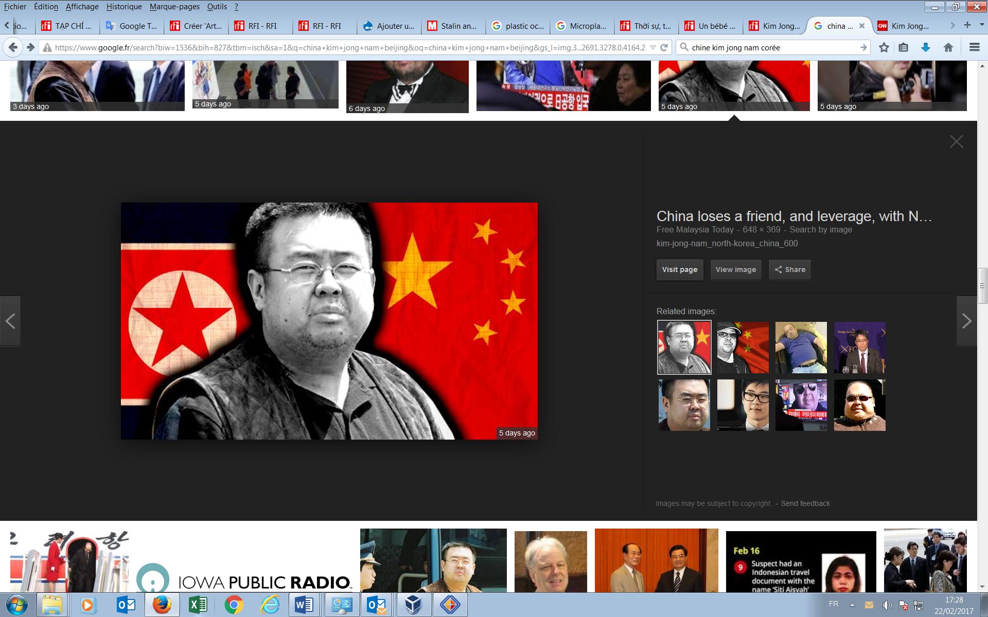 Chân dung ông Kim Jong Nam.
