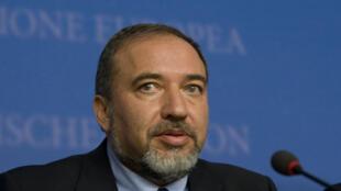 Avigdor Lieberman وزیر خارجۀ اسرائیل