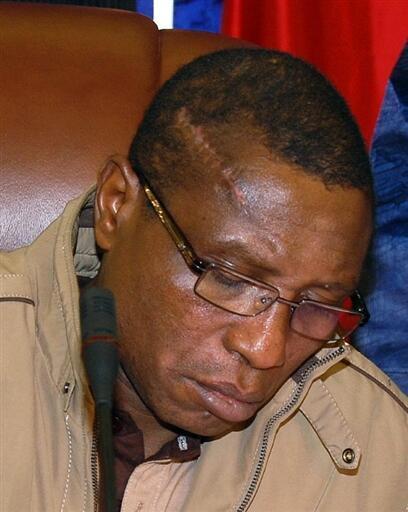 Moussa Dadis Camara, chefe da junta guineense.