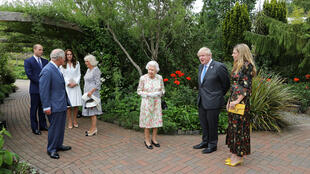 Britain's royal family hosted G7 leaders at Cornwall's Eden Project