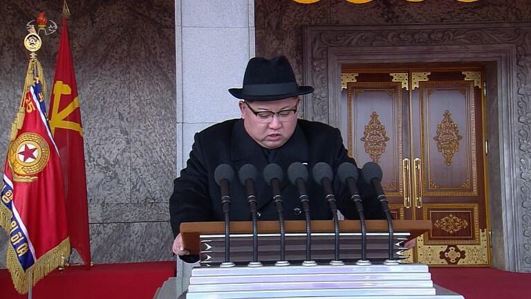 رهبر کره شمالی همزمان با برگزاری مراسم رژه ارتش گفت: کشورش به یک قدرت نظامی در سطح جهانی تبدیل شده است.