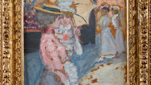 La Promenade by Pierre Bonnard.